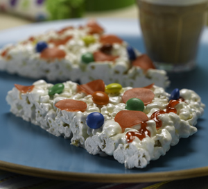 Popcorn Pizza Party Recipe
