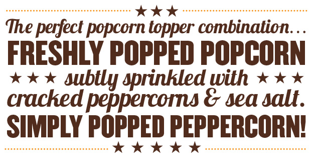 Simply Popped Peppercorn