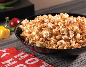 Adobo and Roasted Peanut Popcorn