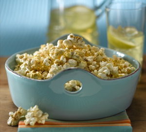 Low Fat Homemade Cheese Popcorn