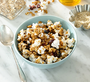 Whole Grain Toasted Berry Popcorn Granola